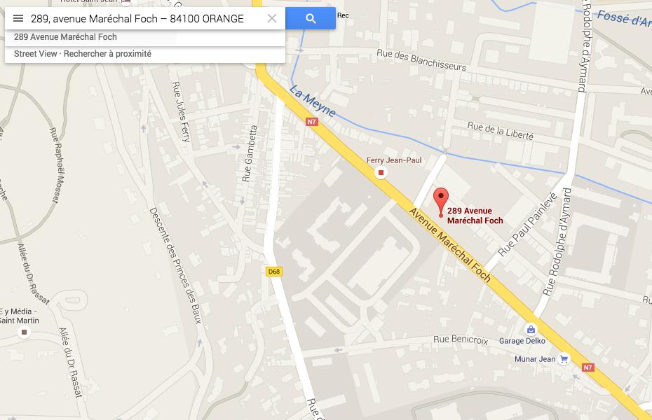 Google Map NG FORMATIONS